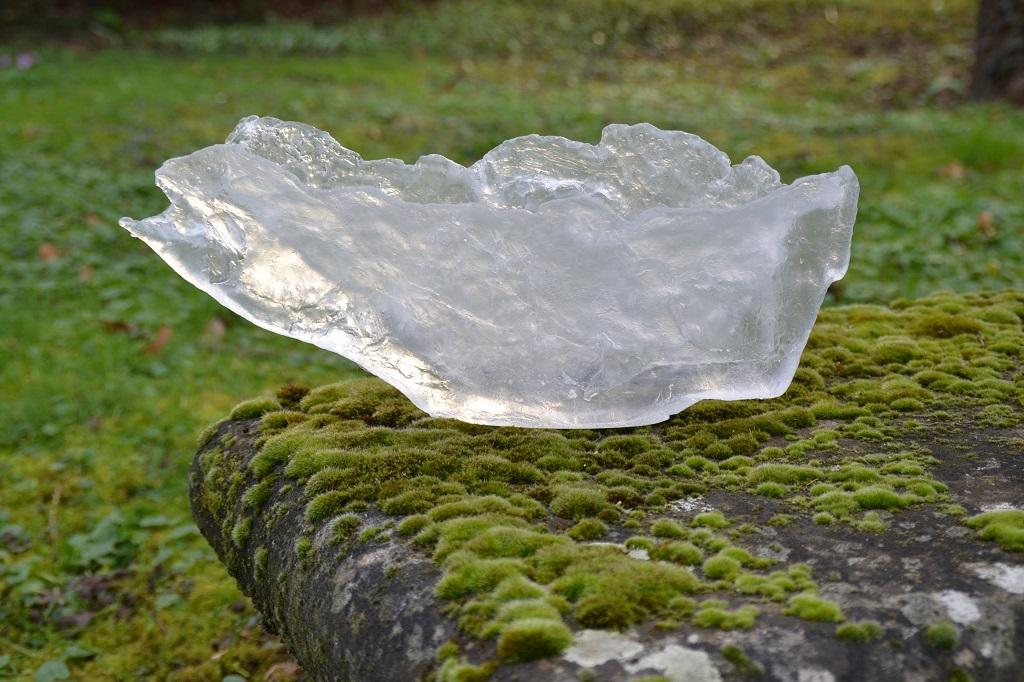 Ecume, vasque de cristal