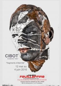 Exposition de raku et sculpture bronze d'Élisabeth Cibot