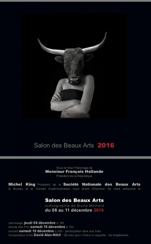 Salon des Beaux Arts Paris 2016