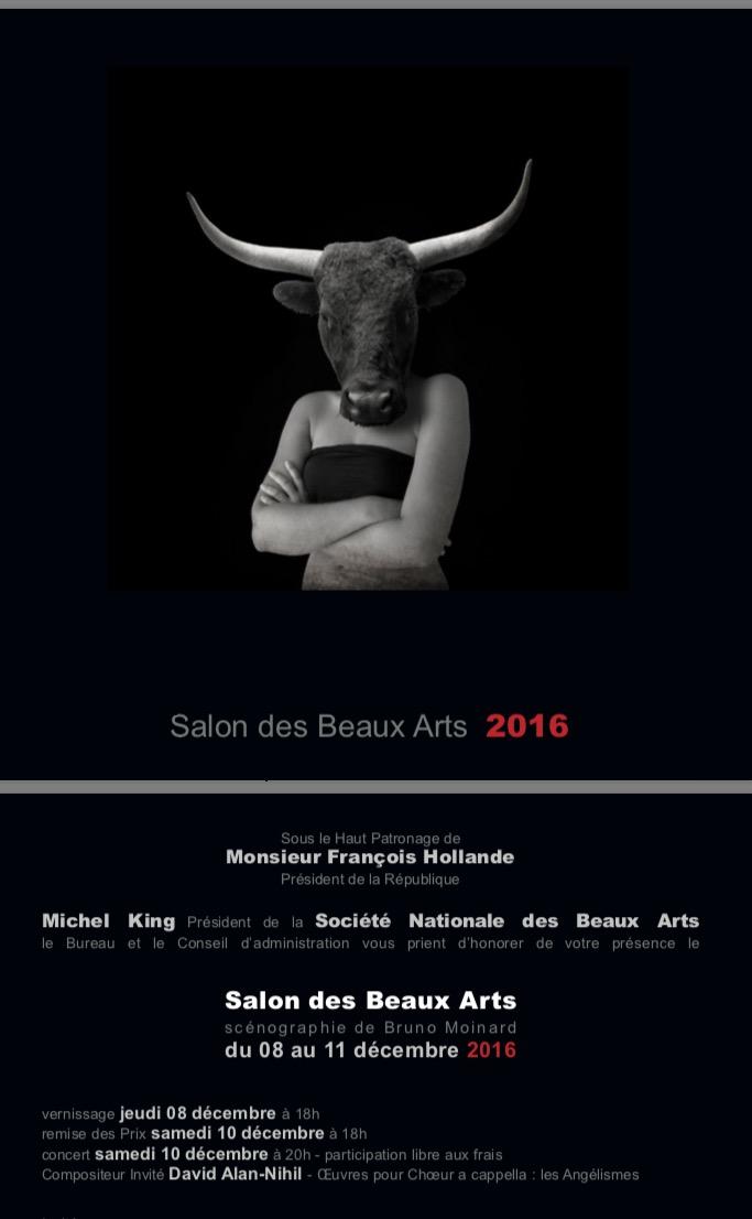 Salon des beaux arts du 8 au 11 d cembre paris for Salon des beaux arts