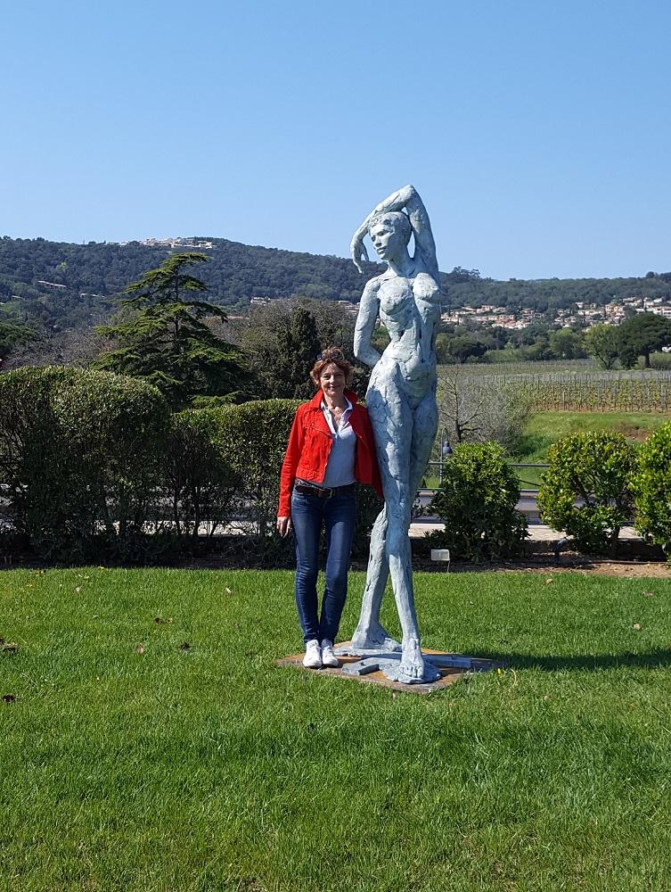 Exposition de Sculptures d'Elisabeth Cibot - Grimaud 2017