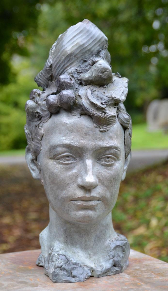 Portrait de Camille Claudel - Bronze d'Elisabeth Cibot