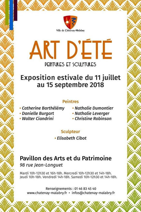 Sculptures, J5 juillet - 11 septembre à Chatenay-Malabry
