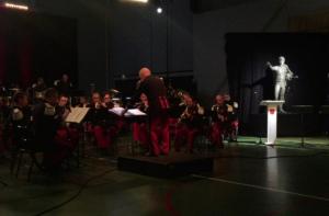 Inauguration par l'Ensemble instrumental des parachutistes de Toulouse