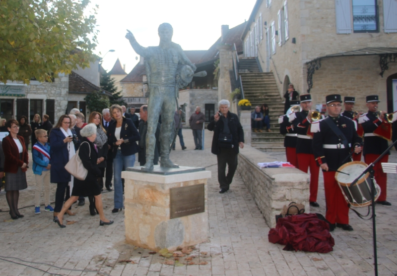 Inauguration de la statue de Joachim Murat