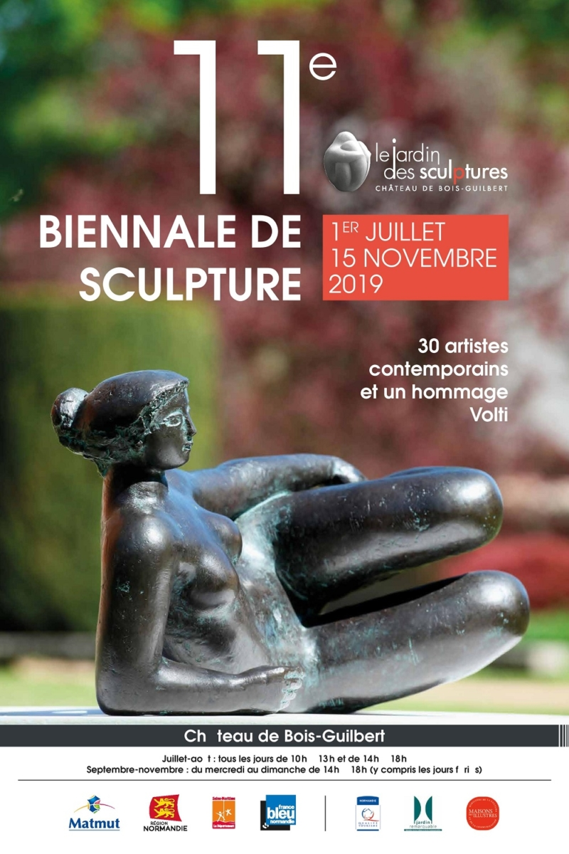 Biennale de Sculptures de Bois-Guilbert 2019