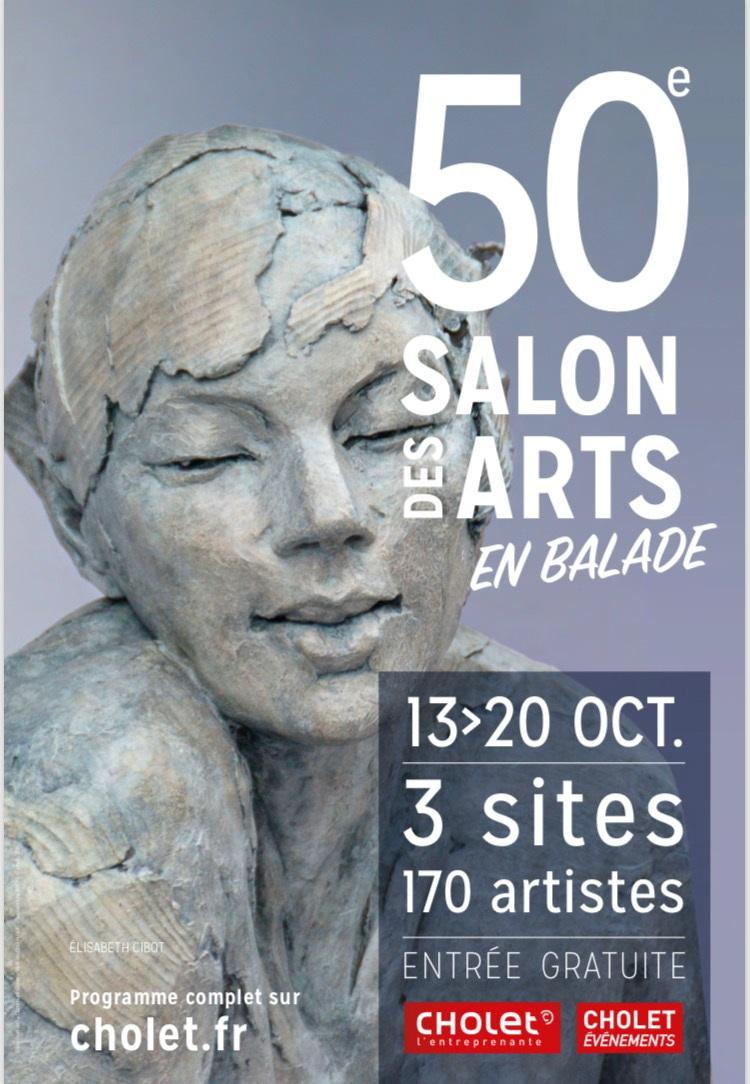 50eme salon des arts à Cholet -2019