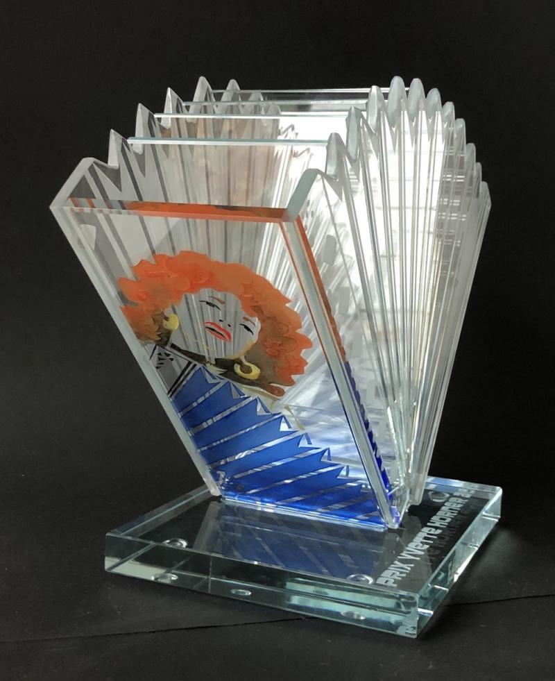 Trophée du prix Horner - Création Elisabeth Cibot