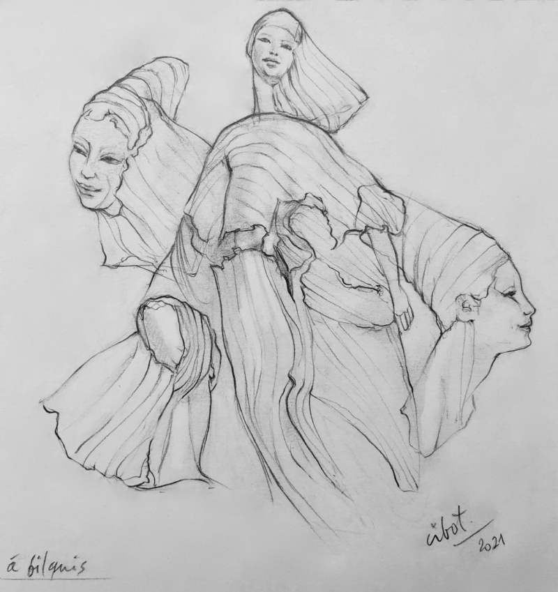 Bilqus - dessin Elisabeth Cibot