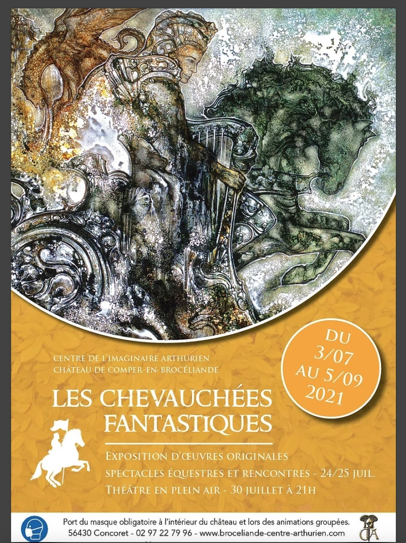 Exposition Chevauchées fantastiques - Chateau de Comper