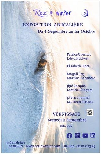 Exposition Peintures et sculptures, Barbizon, septembre 2021